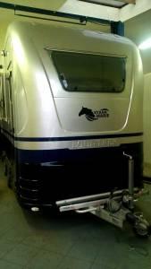 Oklejenie przyczepy transportu zwierząt