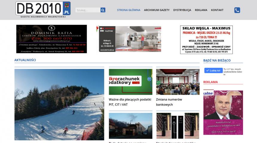 DB2010.pl - budowa portalu dla lokalnej gazety