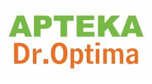 Logo Apteka Dr. Optima Reklama Wałbrzych G-Art Agencja Reklamy