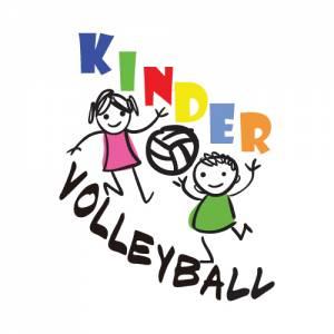 Logo Kinder Volleyball Reklama Wałbrzych G-Art Agencja Reklamy