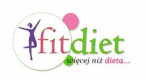Logo Fitdiet Reklama Wałbrzych G-Art Agencja Reklamy